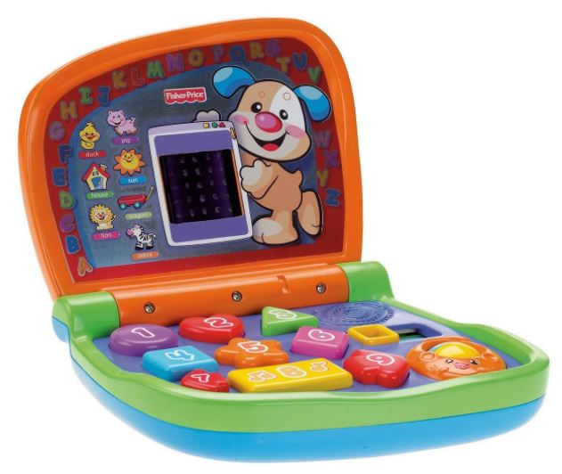 fisher price baby laptop toy
